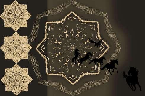 pattern1horseeagle