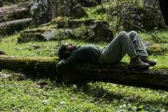 mossy bed... rest...